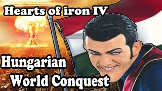 Hearts Of Iron 4 HUNGARIAN PAYBACK - LAZY TOWN MOD
