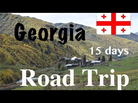 Georgia (Country) - 15 days road trip