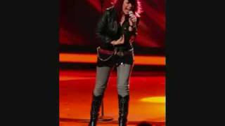 American Idol Allison Iraheta doing PAPA WAS A ROLLING STONE in HQ STEREO