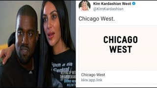 Social Media GOES CRAZY after Kanye and Kim Reveal Their Daughter