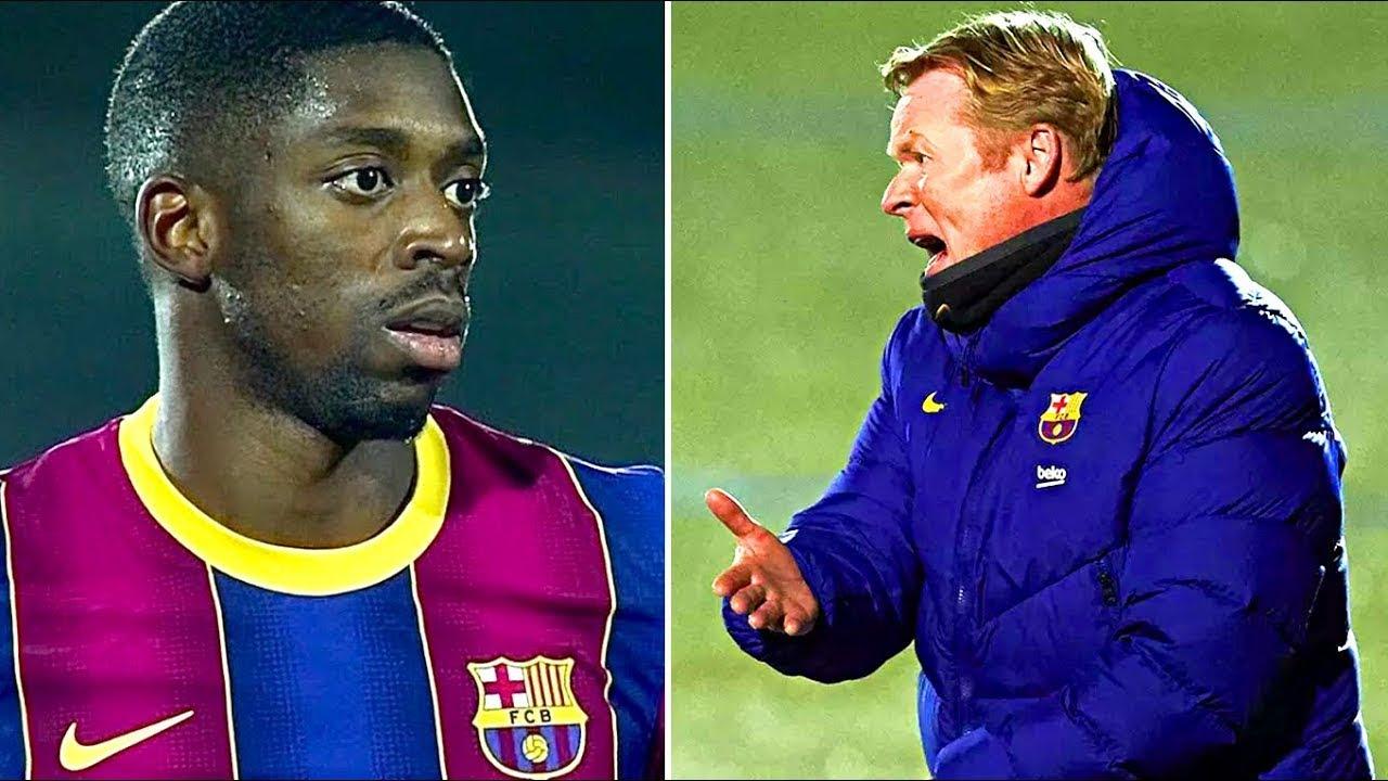 Download KOEMAN'S REACTION on Dembele's penalty! 21-year-old GOALTENDER SHOCKED BARCELONA! (football news)
