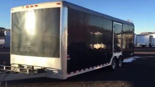 Used 24 foot cargo trailer for sale at Colorado Trailers Inc. 303-688-8485
