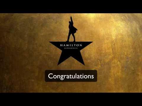 Congratulations - Hamilton (Lyrics)