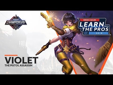 LEARN FROM THE PROS  VIOLET  THE PISTOL ASSASSIN
