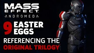 9 Easter Eggs Referencing the Original Trilogy - Mass Effect Andromeda