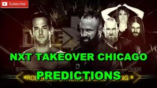NXT TakeOver Chicago Roderick Strong vs. Eric Young Predictions WWE 2K17