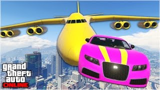 AWESOME GTA 5 STUNTS & FAILS #2 (Funny Moments Compilation) thumbnail