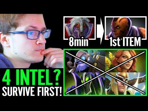 Miracle 8Min Vanguard Survie Tactic Miracle- Dota 2 Am Carry