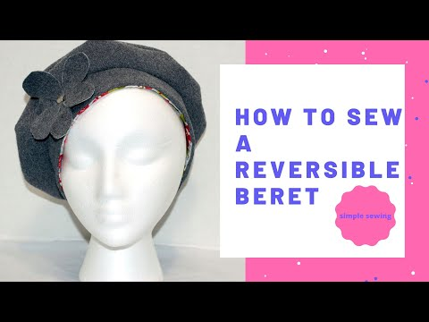 How to Make a Reversible Beret