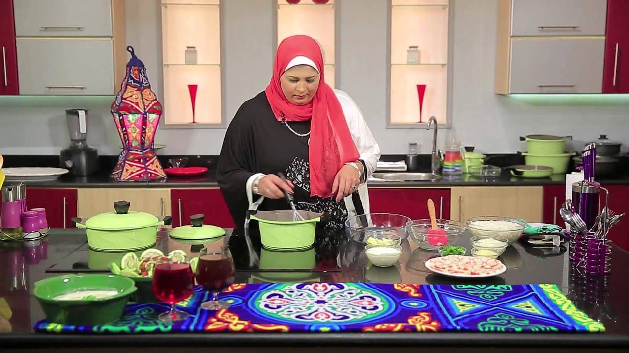 ارز بالجمبري بالبشاميل   : غادة جميل