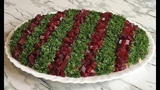 """Невероятный Салат """"Праздничное Ожерелье"""" Красивый и Очень Вкусный / Салат с Селедкой / Holiday Salad"""