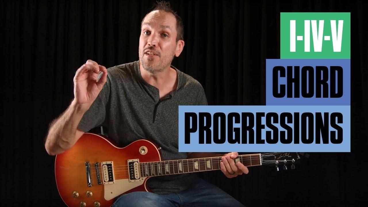How To Find The I Iv V Guitar Chord Progressions Guitar Tricks