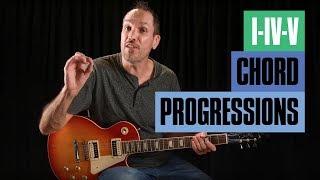 How to Find the I-IV-V Guitar Chord Progressions | Guitar Tricks