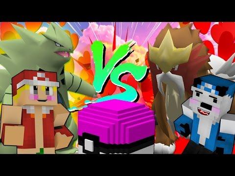 러브러브볼로 암컷 전설 포켓몬을 잡아보자! [포켓몬 럭키배틀 진호 VS 종2나라] 마인크래프트 & Minecraft Pokemon Lucky Battle [진호]