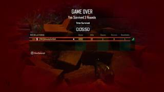 Black Ops 3 Round 100 speedrun revelations fail