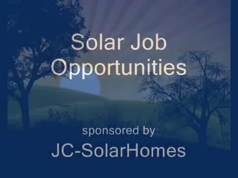 Solar Job Opportunities