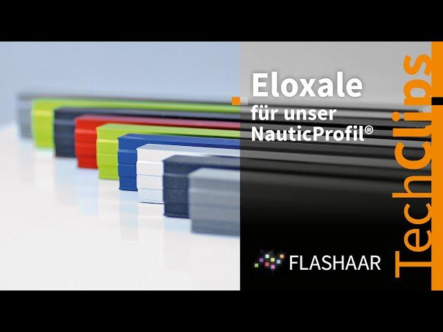 FLASHAAR® - farbige und hochwertige Eloxale, die sich in jedes Raumkonzept und Farbdesign einfügen