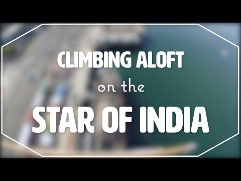 Aloft on the Star of India | San Diego, CA