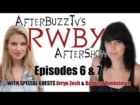 RWBY After Show w/ Barbara Dunkelman and Arryn Zech Volume 2 Episodes 6 and 7 | AfterBuzz TV