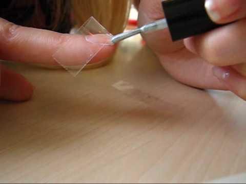 Nageldesign Shiny Silver French Nails Youtube