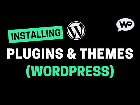 How To Install Plugins and Themes on WordPress