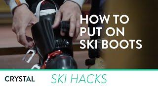 Ski Holidays - How to put on ski boots   Crystal Ski Holidays