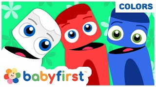 Learn Colors for Babies w Color Crew | 14 Min Compilation | Educational Learning Video for Toddlers
