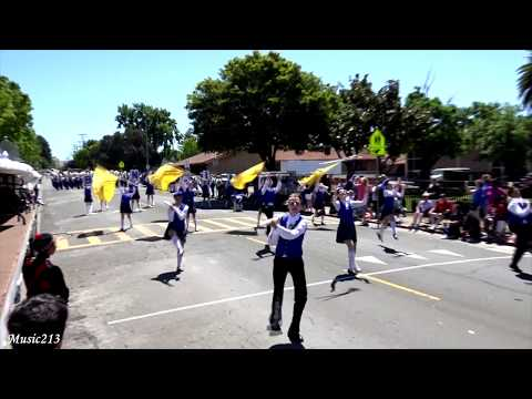 Benicia HS Panther Band - Castell Coch - 2018 Vallejo Band Review