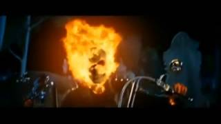 Ghost rider in the end