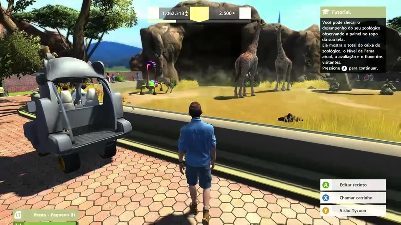 Zoo Tycoon Xbox ONE Comentando YouTube
