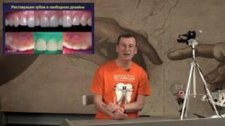 видео реставрация передних зубов