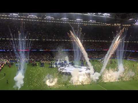 Real Madrid–Juventus 4-1 UEFA Champions League Final Celebration 2017.06.03.