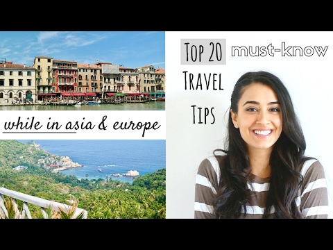 TOP TRAVEL TIPS » 20 to know for during your travels