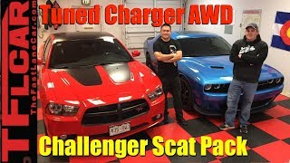 Dude, I Love My Ride: Tuned Dodge Charger and Challenger Scat Pack!