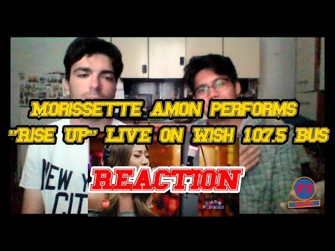 Morissette Amon performs Rise Up by Andra Day LIVE on Wish 107.5 Bus REACTION