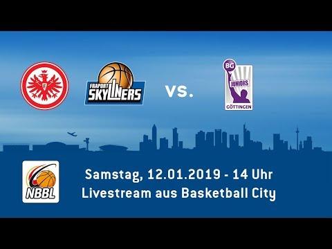 NBBL Heimspiel der Eintracht Frankfurt / FRAPORT SKYLINERS gegen Göttingen