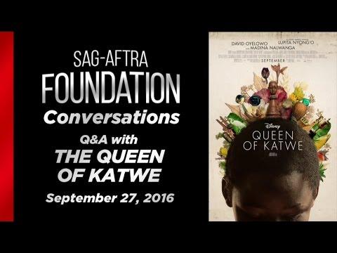 Conversations with Lupita Nyong'o and David Oyelowo of QUEEN OF KATWE