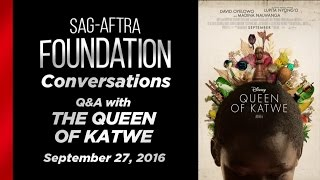 Conversations with Lupita Nyong'o and David Oyelowo of QUEEN OF KATWE