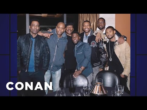 Kevin Hart's Star-Studded Dinner  - CONAN on TBS