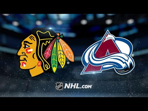 Barrie, Andrighetto lead Avalanche past Hawks, 5-0