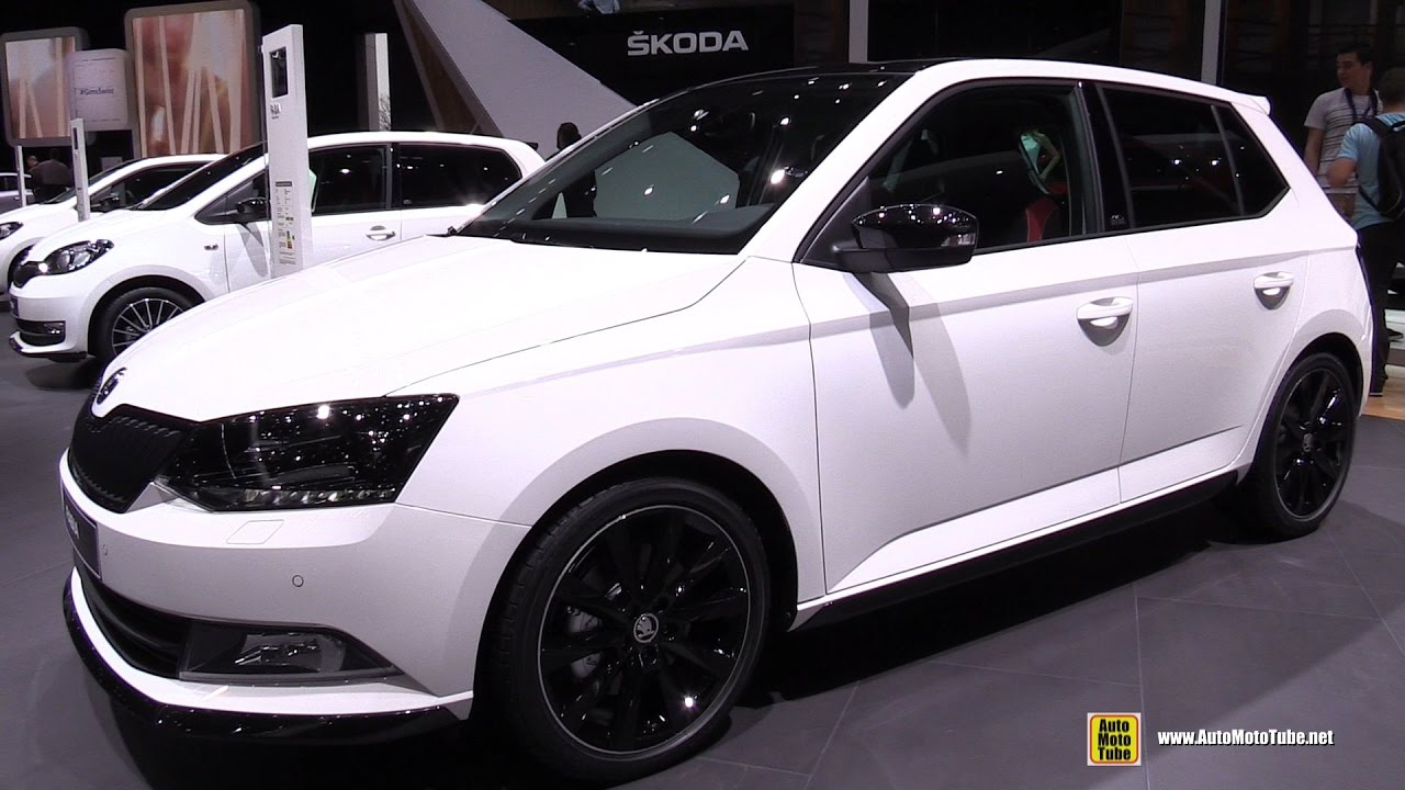 2017 skoda fabia monte carlo exterior and interior walkaround 2017 geneva motor show youtube. Black Bedroom Furniture Sets. Home Design Ideas