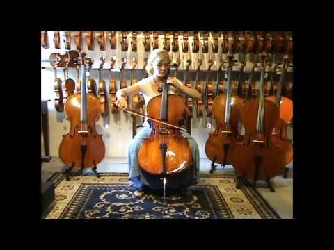 Arco Cello Demonstration From Animato Violins Australia