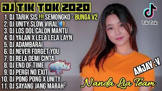 Download Lagu Dj Tik Tok Terbaru 2020 | Dj Tarik Sis Semongko Bunga Full Album Remix 2020 Full Bass Viral Enak mp3