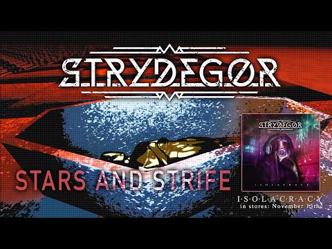 STRYDEGOR - Stars and Strife (official lyricvideo)