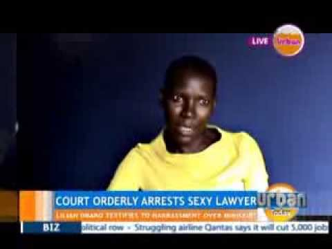 Kampala Lawyer detained under the Anti-pornography bill
