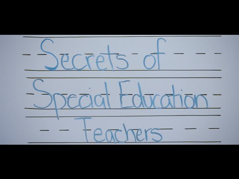 Secrets Of Special Education Teachers