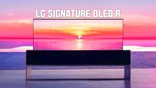 세계 최초 롤러블TV 드디어 출시! LG 시그니처 올레…