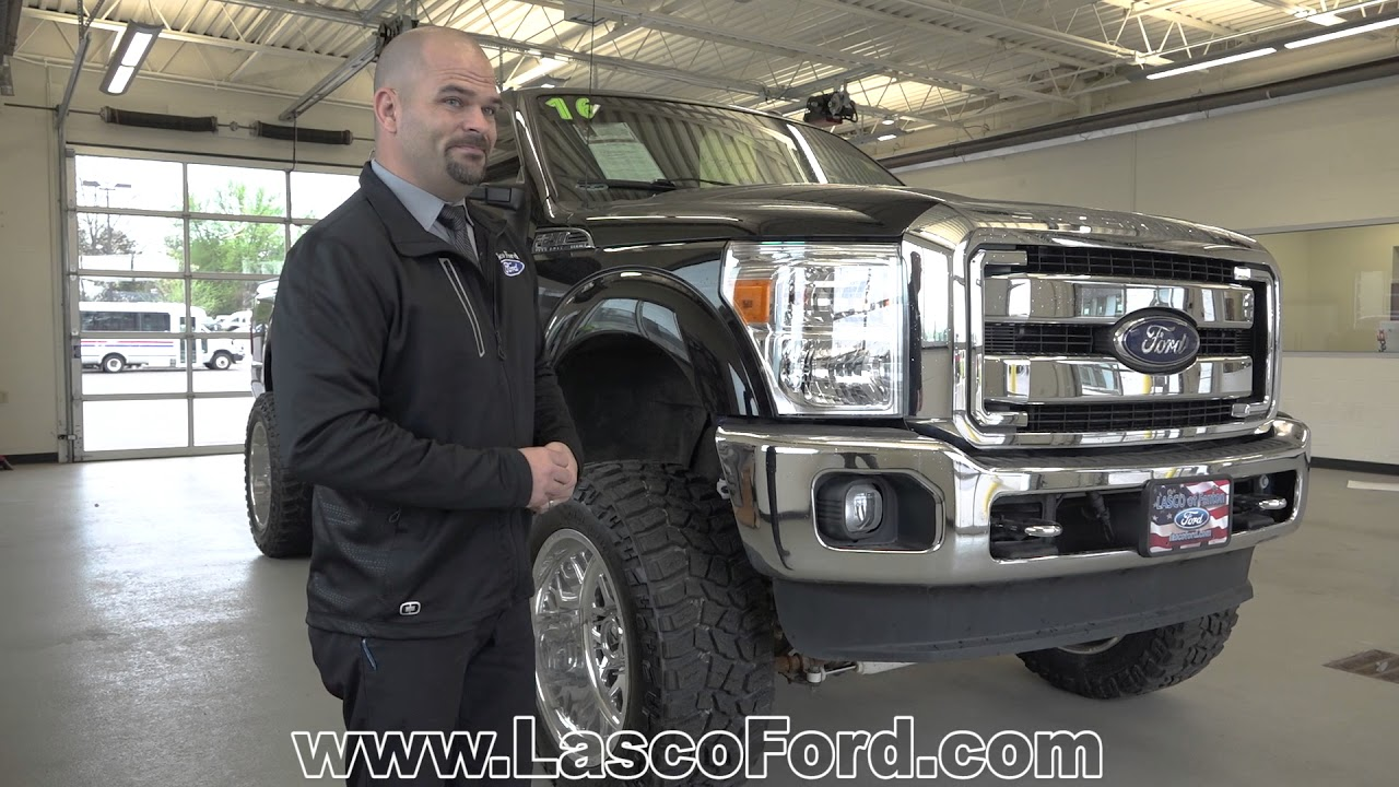 Ford F250 8 Foot Bed For Sale >> 2016 Ford F250 Lariat Supercrew Diesel Lifted For Sale
