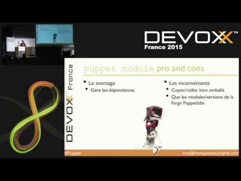 Faites votre Guignol : le bazar des modules Puppet