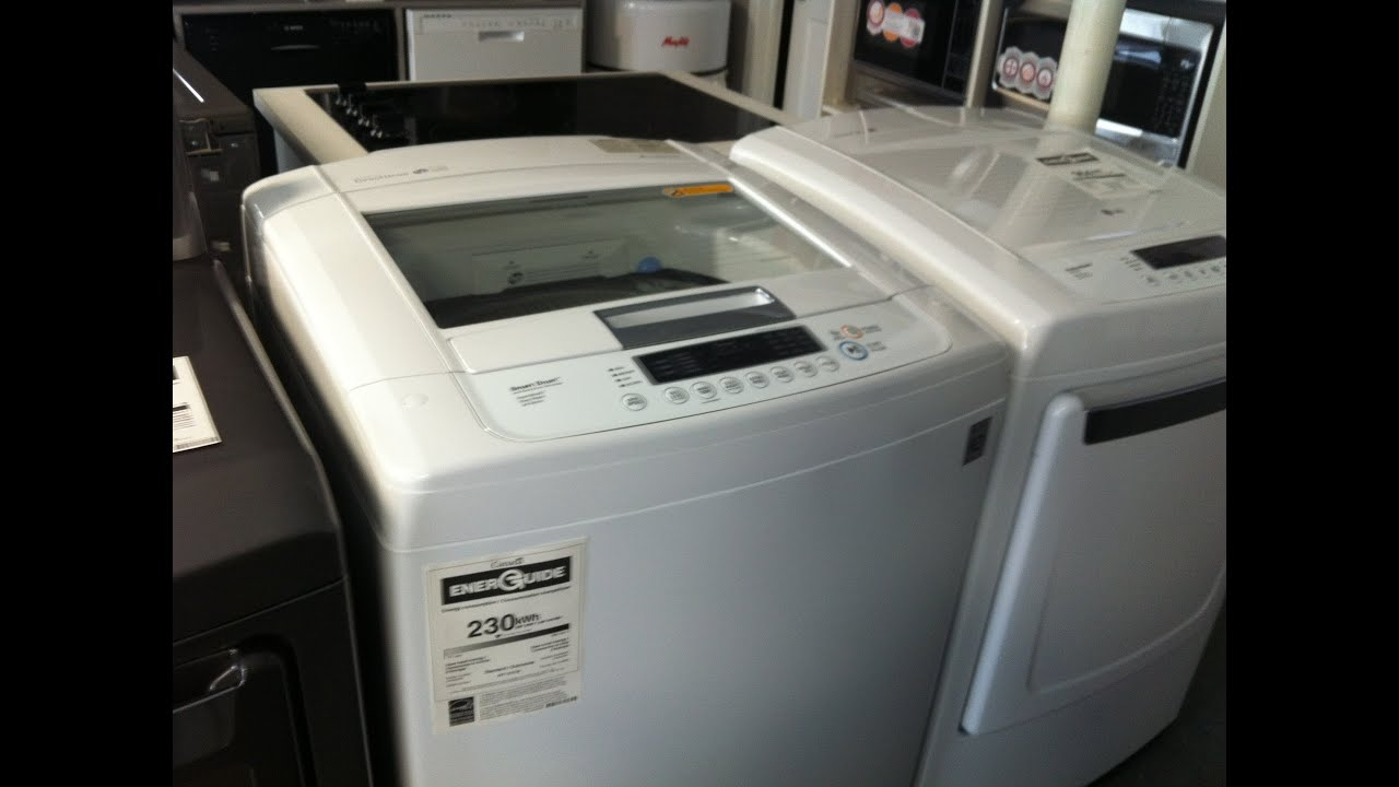 he top loader washing machine